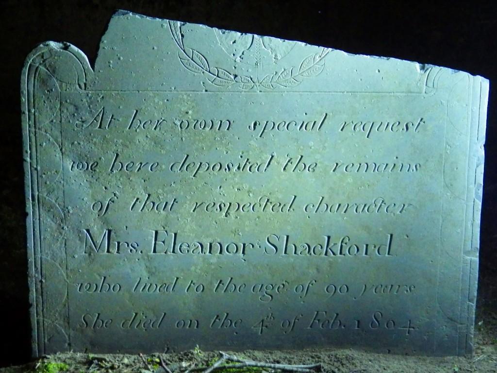Eleanor Shackford stone-night