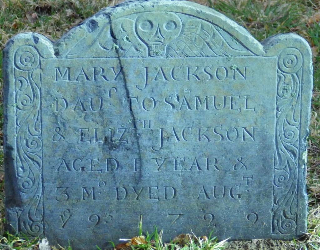 Mary Jackson stone
