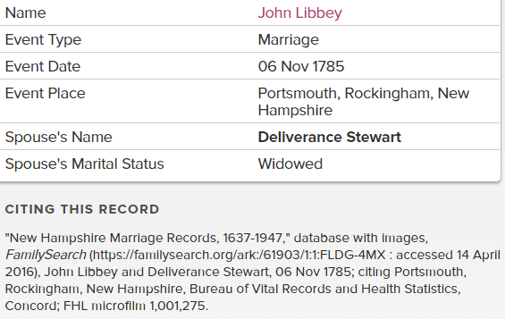 John Libbey Deliverance marriage