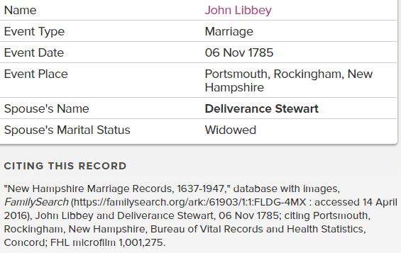 John Libbey Deliverance marriage