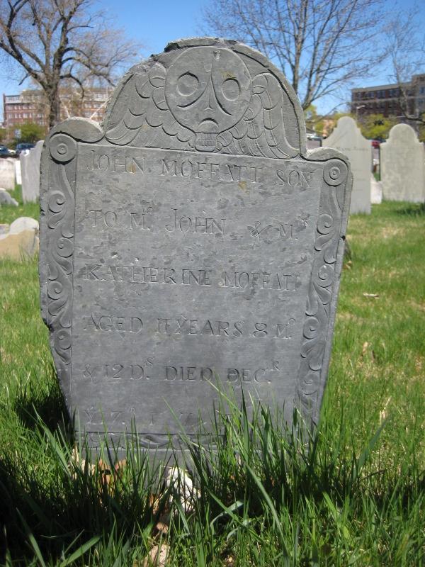 John Moffatt find a grave