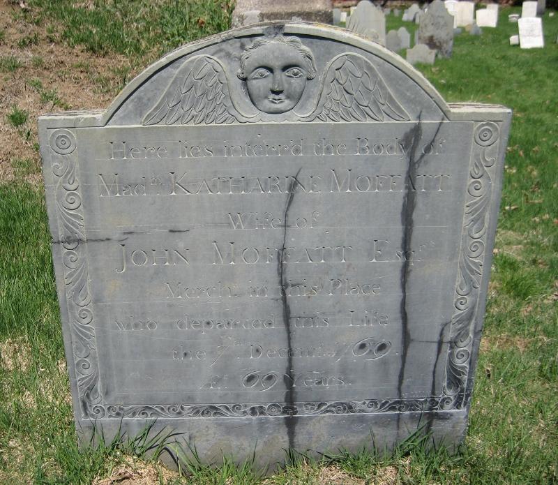 Katherine Moffatt find a grave
