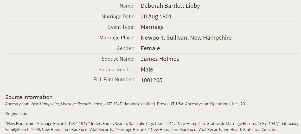 Libby Holmes_Marriage