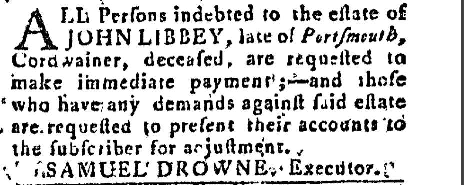 October 4 1788 New-Hampshire Spy Portsmouth New Hampshire Volume IV Issue 47 Page 287