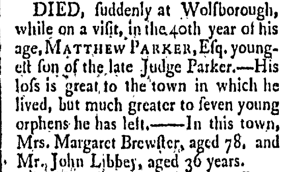 September 11 1788 New-Hampshire Gazette Portsmouth New Hampshire Volume XXXIII Issue 1670