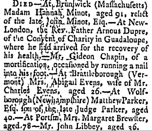 September 16 1788 Salem Mercury Salem Massachusetts Volume II Issue 101 Page 3