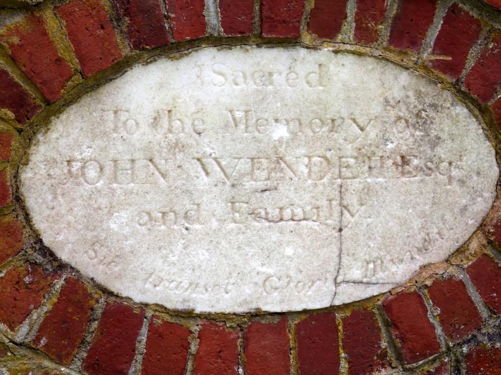 John Wendell tomb