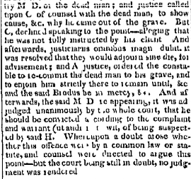 law case 2 May 15 1819 Daily National Intelligencer Washington DC District of Columbia Volume 7 Issue 1979 Page 2