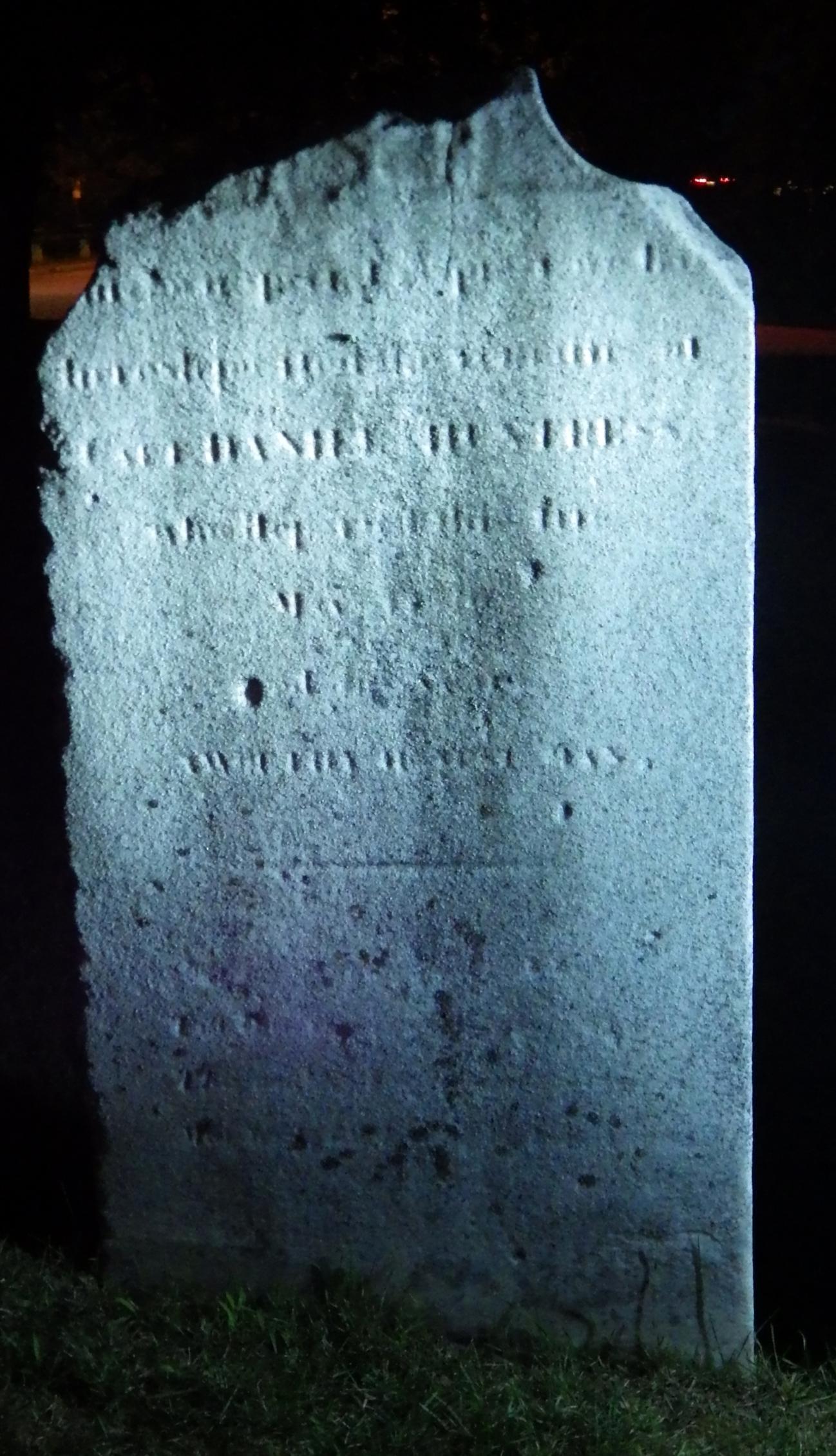 Daniel Huntress stone 1